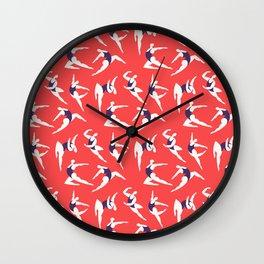 Tiny Dancers Wall Clock