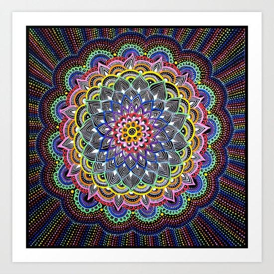 Infinite Colors Art Print
