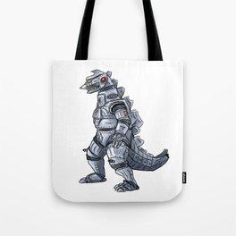 Mechagodzilla Tote Bag