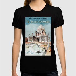 Vintage 1893 Chicago World's fair expo T-shirt
