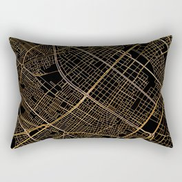Bogota map, Colombia Rectangular Pillow