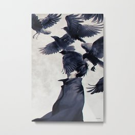 I wish that I could fly ... Metal Print