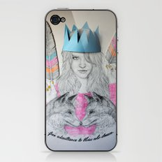 Free admittance to those who dream iPhone & iPod Skin