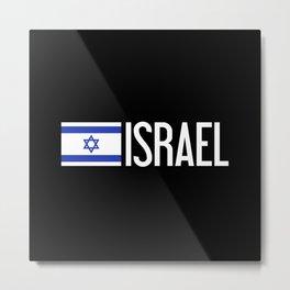 Israel: Israeli Flag & Israel Metal Print