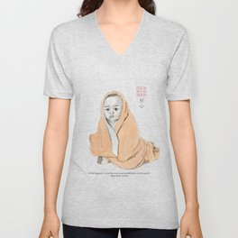 Baby Buddha Unisex V-Neck