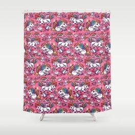 Baby unicorns Shower Curtain