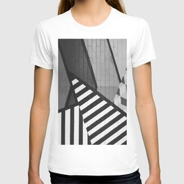 Abstract Art (Black and White) T-shirt
