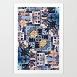 Community of Cubicles Art Print