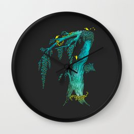 Tree Birds Wall Clock