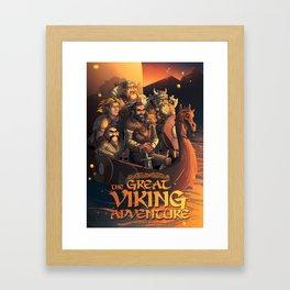 The Great Viking Adventure Framed Art Print
