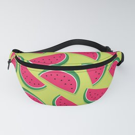 Juicy Watermelon Slices Fanny Pack