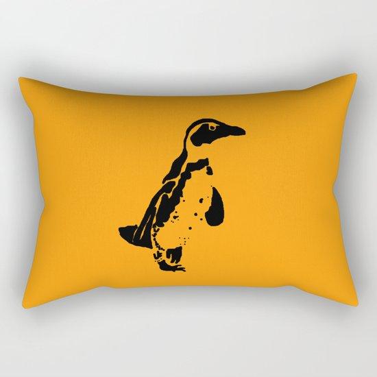 Penguin Patches Rectangular Pillow