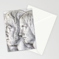 Victorian Family Cameo Stationery Cards