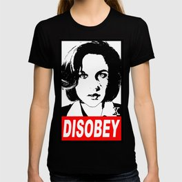 Disobey Scully T-shirt