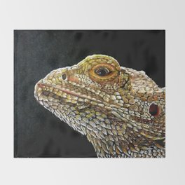 Bearded Dragon Throw Blanket
