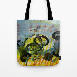 BUFFALO FACTORY  Tricycles Tote Bag