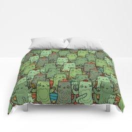 Catcus Garden Comforters