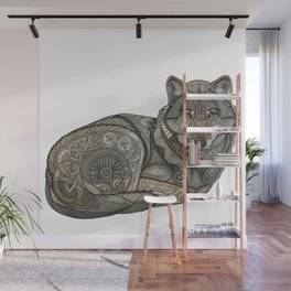 Norse Wolf Wall Mural