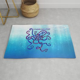 Cuddly Octopus Knot Rug