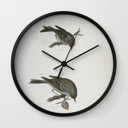 1319 119 The Ruby crowned Kinglet (Regulus calendula) 120 The Pine Warbler (Sylvicola pinus)26 Wall Clock