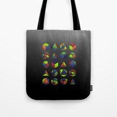 Sacred Shapes & Colors Tote Bag