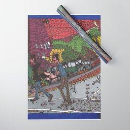 Jills Street - New York Wrapping Paper
