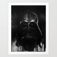 darth Art Prints featuring Darth by H.E.art