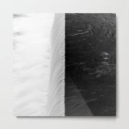 Black and White Garonne Metal Print