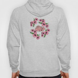 flor and fawn Hoody