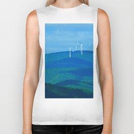 Windmills on the Hill Biker Tank
