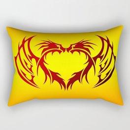 heart winged Rectangular Pillow