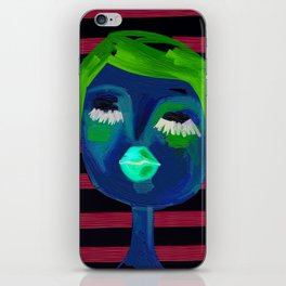 portrait of a girl  iPhone Skin