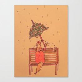 In Case of Rain Canvas Print