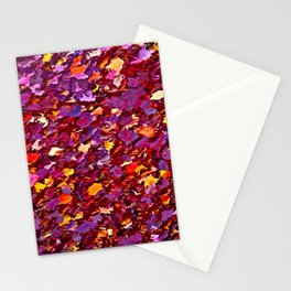 Forest Floor in Autumn Stationery Cards