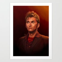 Last of the Time Lords - Doctor Who Art Print