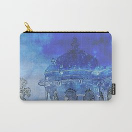 India in Indigo Carry-All Pouch