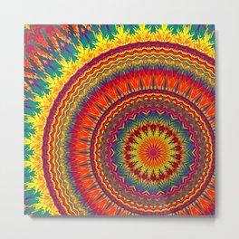 Mandala 243 Metal Print