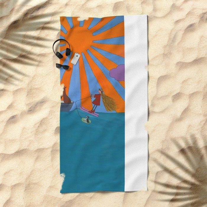 waterski Beach Towel