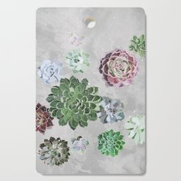 Simple succulents Cutting Board