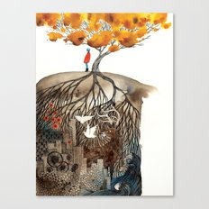 Small Moments Canvas Print