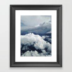 East Coast Cumulus Framed Art Print