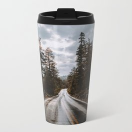 Rainy Day Adventures in the Forest Metal Travel Mug