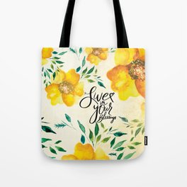 Live in Your Blessings Tote Bag