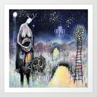 Haligarth - A Sacred Place Art Print