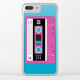 Pink Sunshine Clear iPhone Case