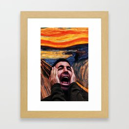 Lito Screaming - Sense8 Framed Art Print