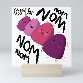 Jjajja's Jar NomNom's Mini Art Print