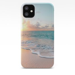 Pink Sea iPhone Case