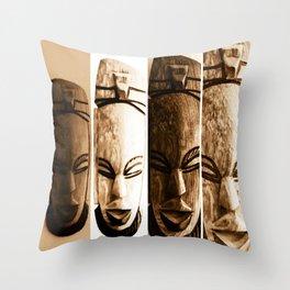 mother earth ancient goddess Throw Pillow