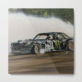 Ken Block Hoonicorn Drift Car Metal Print
